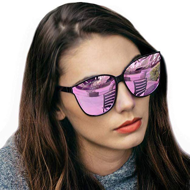 be8df88507c LVIOE Cat Eyes Sunglasses for Women