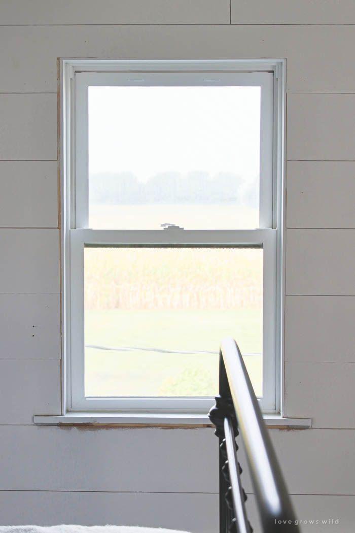 farmhouse window trim - Window Framing Trim