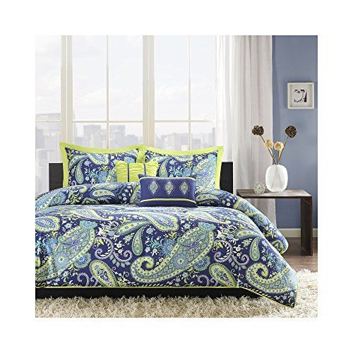 Intelligent Design Melissa 5 Piece Comforter Set Fullqueen Blue
