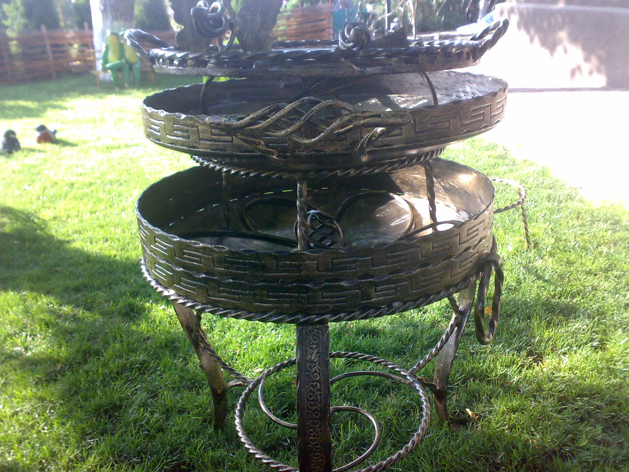 charcoal grill and fire pit outdoor fire pit wrought iron handmade