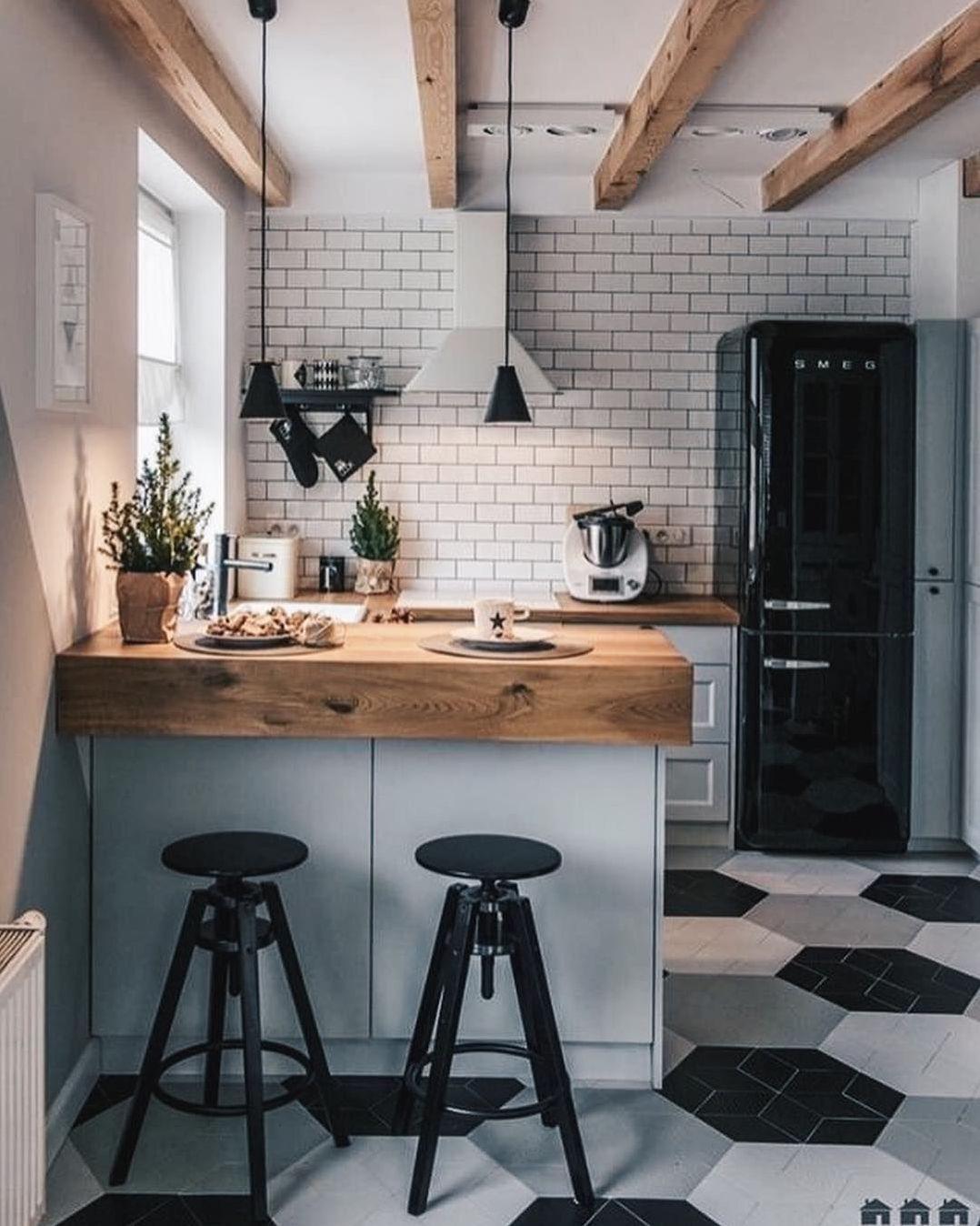 17 Stunning Small Kitchen Design Ideas Futurian Kitchen Design Small Interior Design Kitchen Small Kitchen Decor