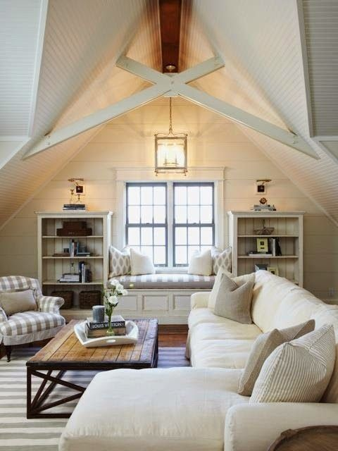 Inspirational Vaulted Living Room Ceilings