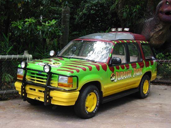 Fate Of The Jurassic Park Explorers Jurassic Park Jeep