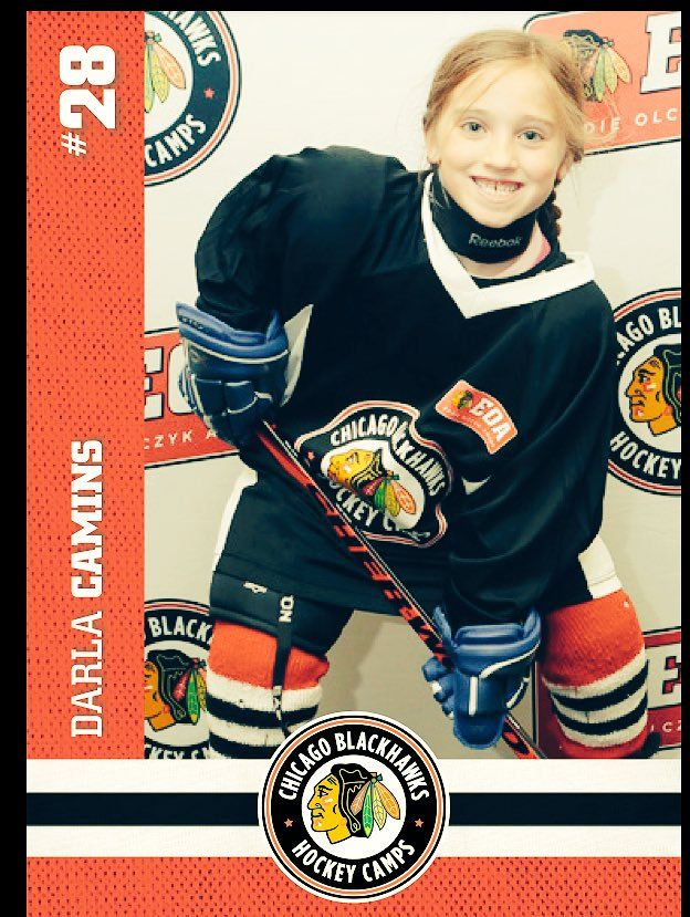 Check out our new #BlackhawksHockeyCamp player cards!