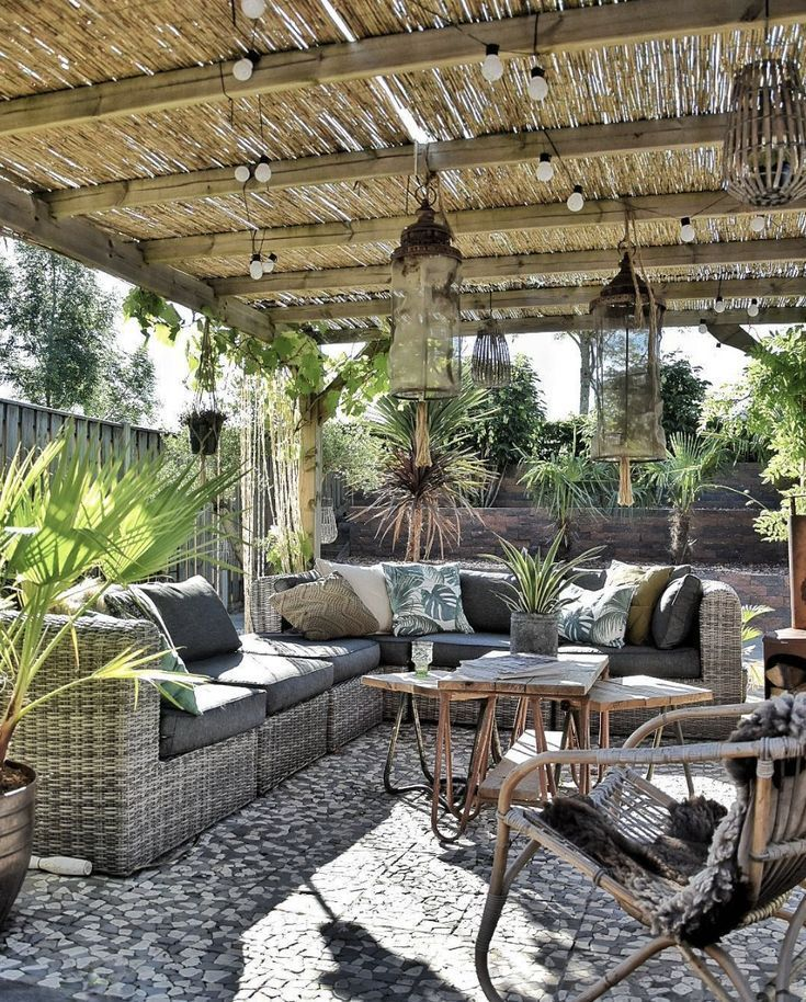 6 x Garteninspiration mit den schönsten Gärten  #garten #garteninspiration #schonsten #backyardpatiodesigns