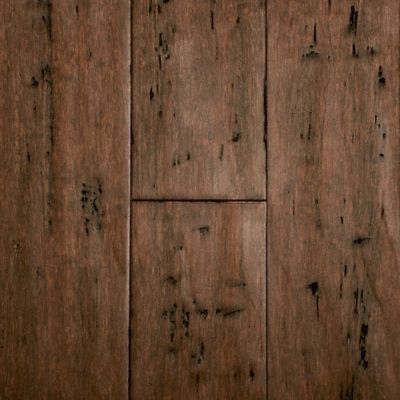 9 16 X 5 1 8 Rustic Clove Bamboo Bamboo Flooring Flooring Bamboo Flooring Kitchen