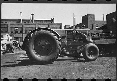 Minneapolis Moline Tractor Factory