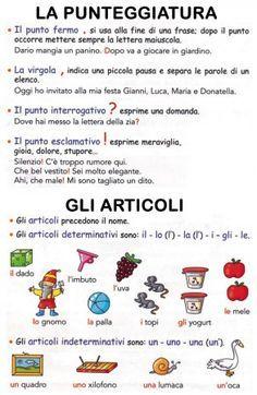 Pin Di Valeria Govoni Su Grammatica Regole Grammaticali
