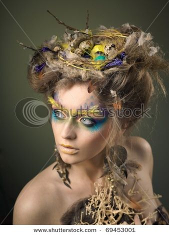 birds nest hair style birds nest hairstyle search nature inspired 6905