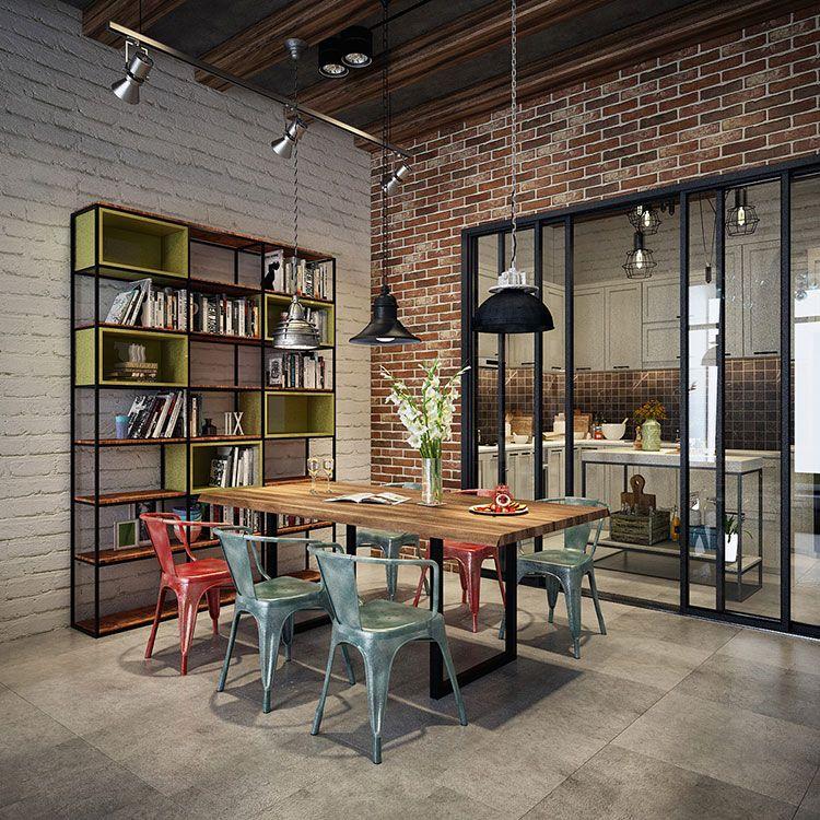 Come Arredare Una Sala Da Pranzo In Stile Industriale Mondodesign It Arredamento Arredamento Sala Da Pranzo Appartamento Industriale