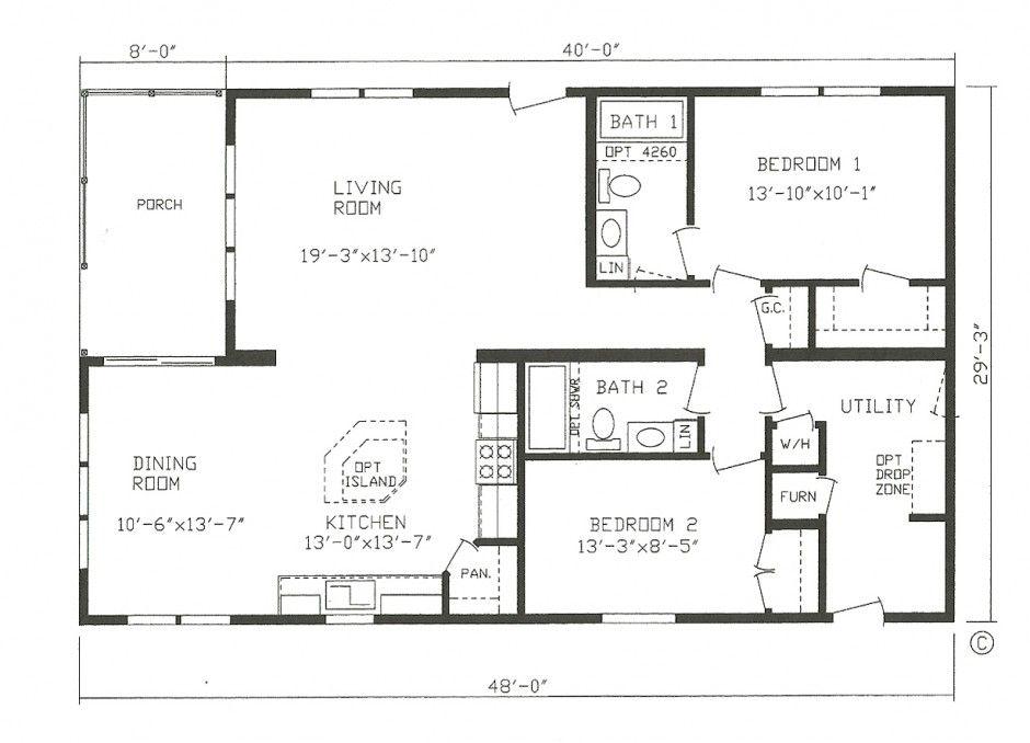 modular house plan