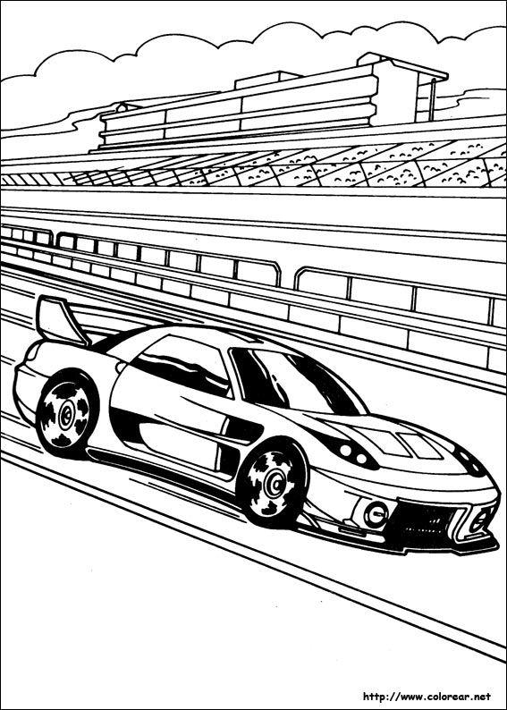 Dibujos de Hot Wheels para colorear en Colorear.net | Coloring 4 ...