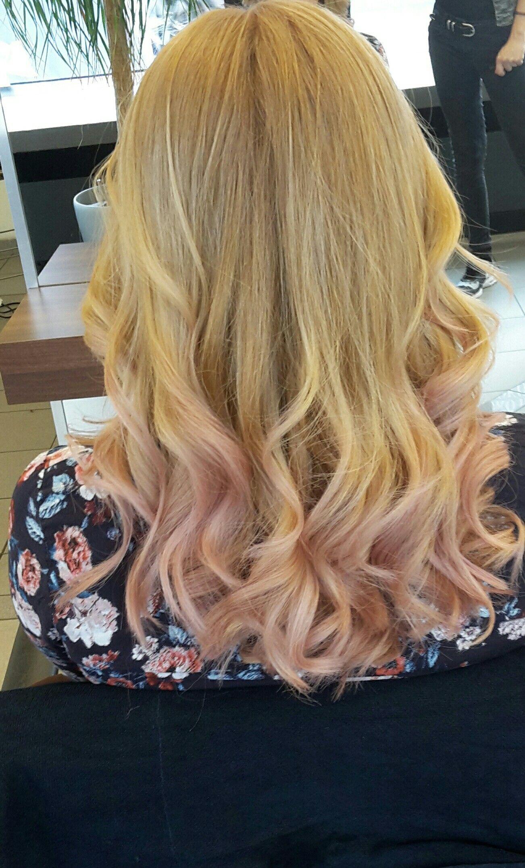 Rosa Spitzen mit sassoo gefärbt Haare Pinterest