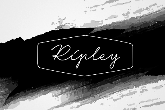 Ripley - 3 fonts - 50% off by Leitmotif on @creativemarket