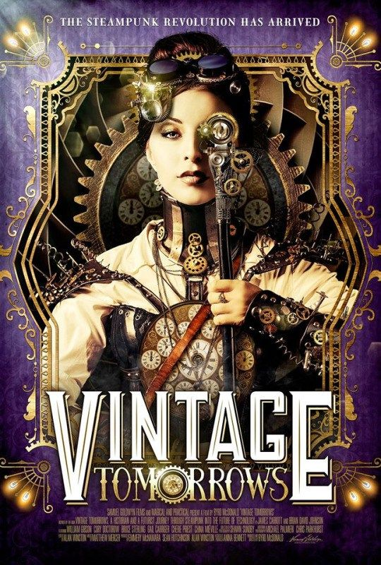 Vintage Tomorrows~ out July 19th   Steampunk movies