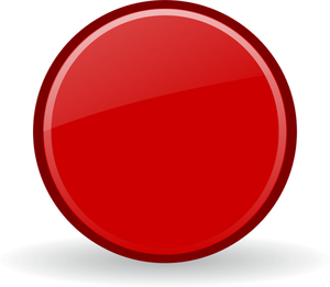 Vector Graphics Of Red Record Button With A Shadow Vector Graphics Clip Art Free Clip Art