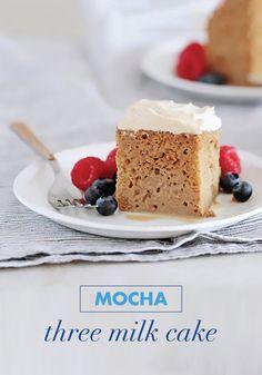 Photo of Mocha Three Milk Cake