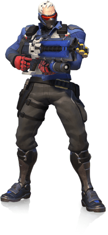 An Enigmatic Vigilante Fights To Uncover The Truth Behind Overwatch S Collapse Overwatch Gaming Overwatch Soldier Soldier 76