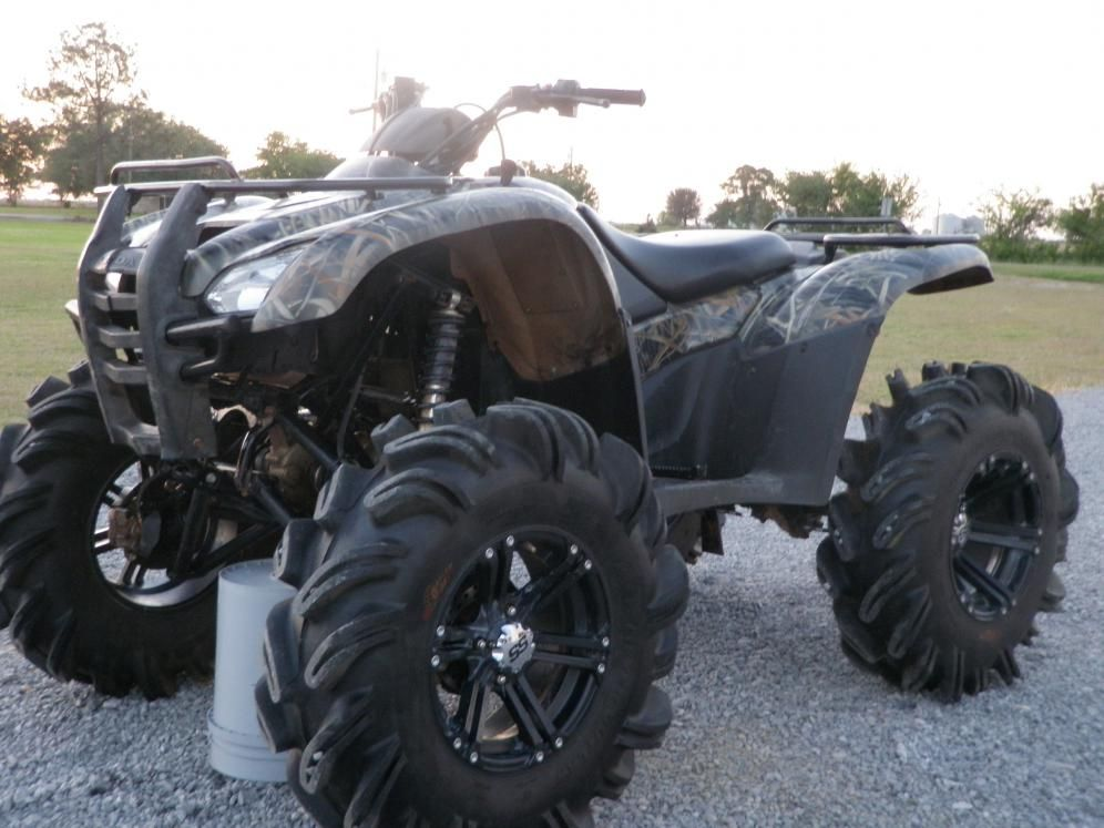 lifted honda atv   FEW pics of my 420 with 6in lift and 31 ...