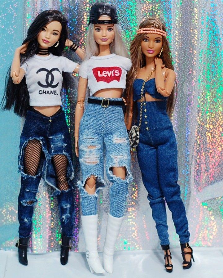 """Gefällt 3,780 Mal, 41 Kommentare - Barbie Best Friends (@barbiebestfriends) auf Instagram: """"Malu, Queen e Alisha. Curtindo muito a festinha da nossa miga, parabéns miga @_luanadolls_ . . . .…"""" #barbie"""