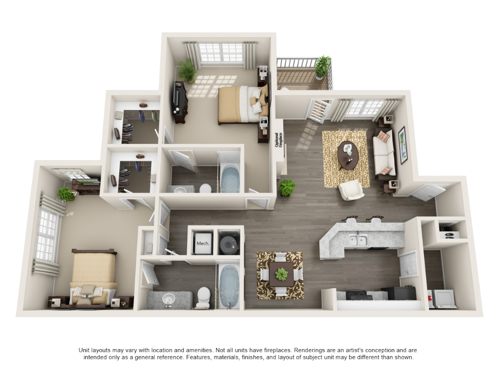One Two And Three Bedroom Apartments In Mauldin Sc Apartment Steadfast Mauldin Southcarolina House Layout Plans Apartment Floor Plans House Layouts