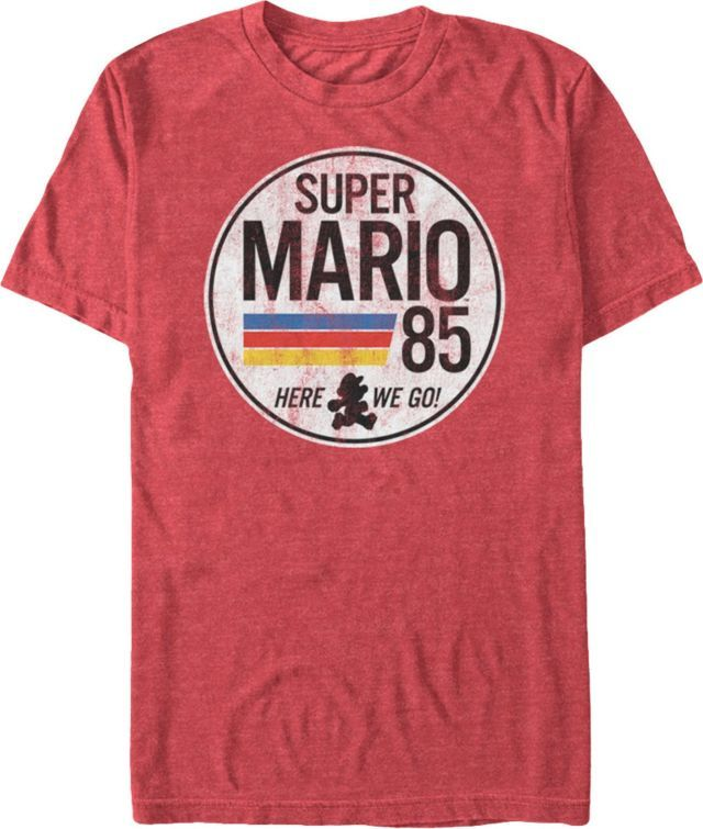 f5cbda4ee8 Super Mario 85 - Super Mario Bros T-Shirt | Super Mario T-Shirts ...