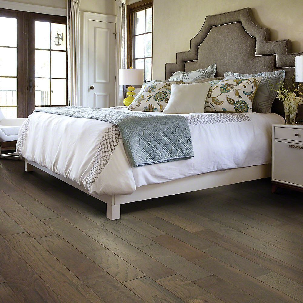 "Shaw Floors Loveland Pass 5"" Engineered Hickory Hardwood"
