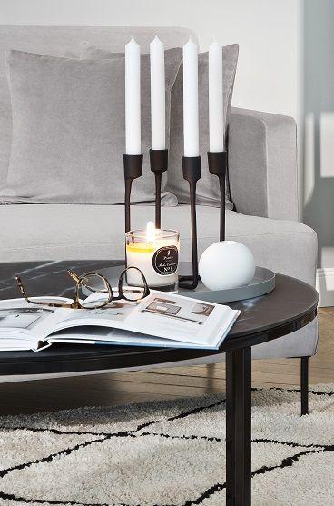 So funktioniert der Look »Cool Grey«: Ein komplettes Wohnzimmer auf ...