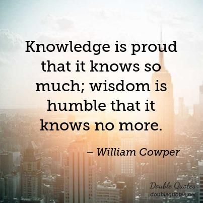 Image result for image knowledge without wisdom puffeth up