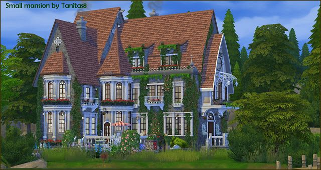 Sims 4 ccs the best house by tanita