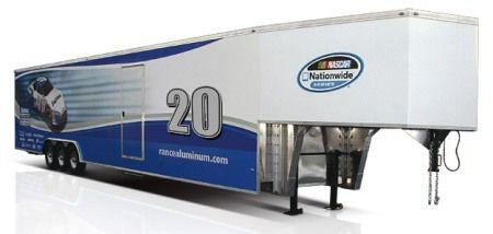 Aluminum Gooseneck Race Car Trailer Cargo Camper Pinterest