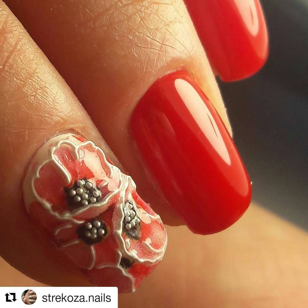 Repost @strekoza.nails with @repostapp ・・・ Новая красота от ...