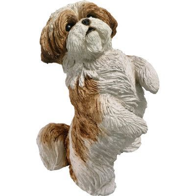 Darby Home Co Hermanson Shih Tzu Figurine Wayfair Dog Sculpture Dog Figurines Shih Tzu Dog