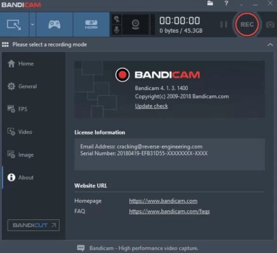 Image result for Bandicam 4.5 Crack
