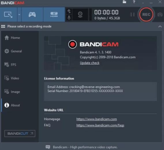 Image result for Bandicam 4.5 Crack