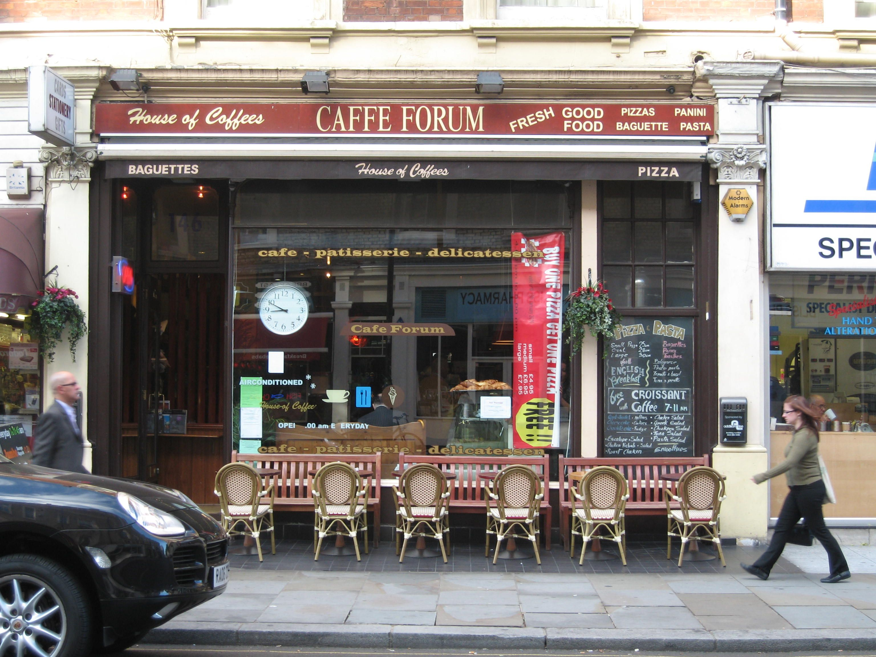 Cafe forum a cozy study nook on gloucester road in