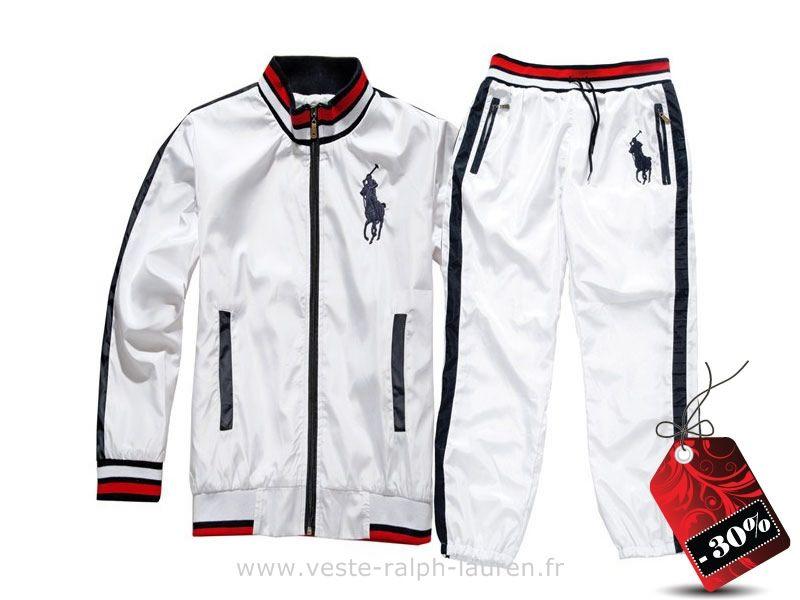 d3b2abafcc06 boutique new style survetement Ralph Lauren hommes 2013 big pony polo blanc  Survetement Homme Ralph Lauren