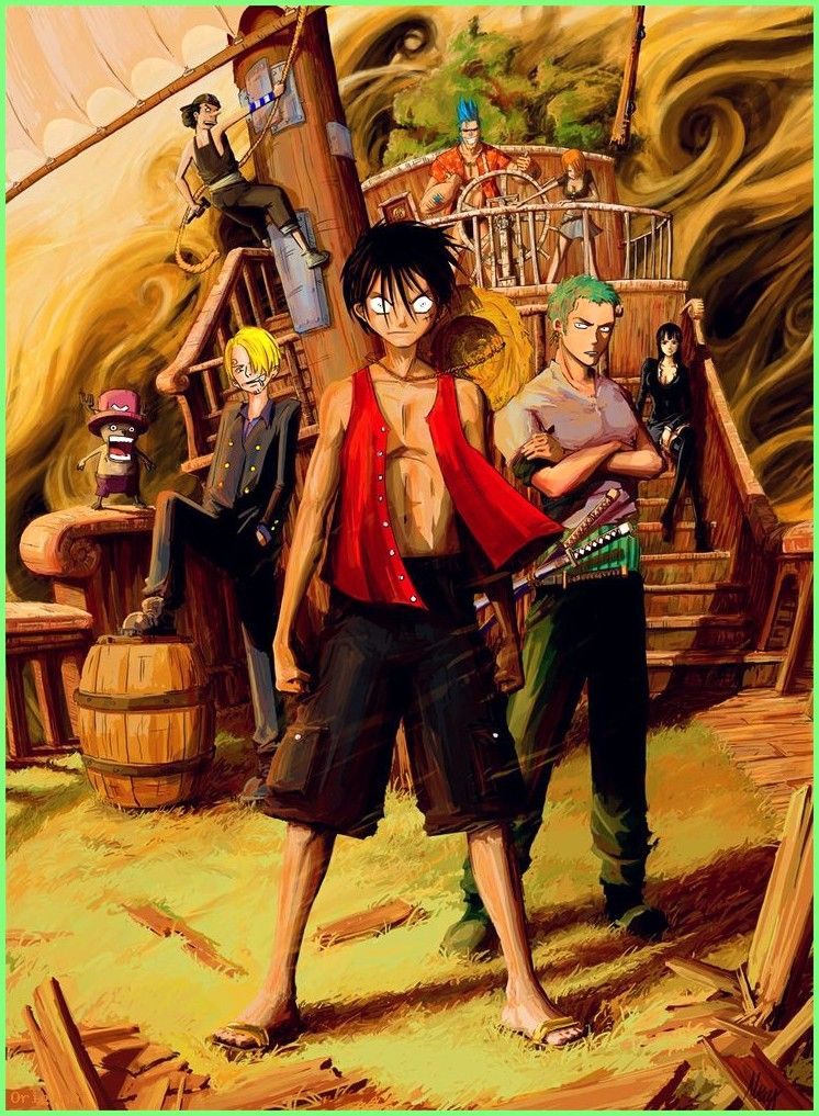Android Wallpaper One Piece Wallpapers 3d 26 Wallpapers