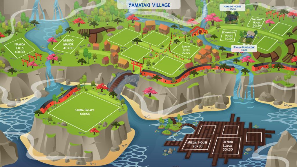 sims 4 world map download Yamataki Village Ts4 Fan Art By Hazzaplumbob Sims 4 Pets Sims