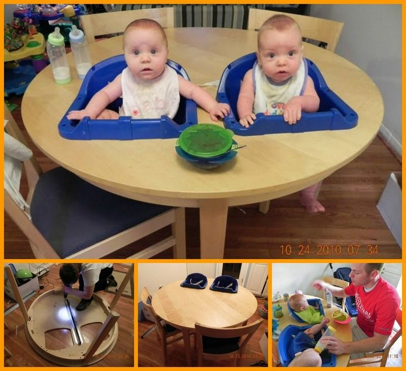 DIY Twin High Chair Bonnes idées, Bebe, Idee