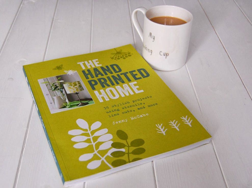 The handprinted home by Jenny McCabe published by cico