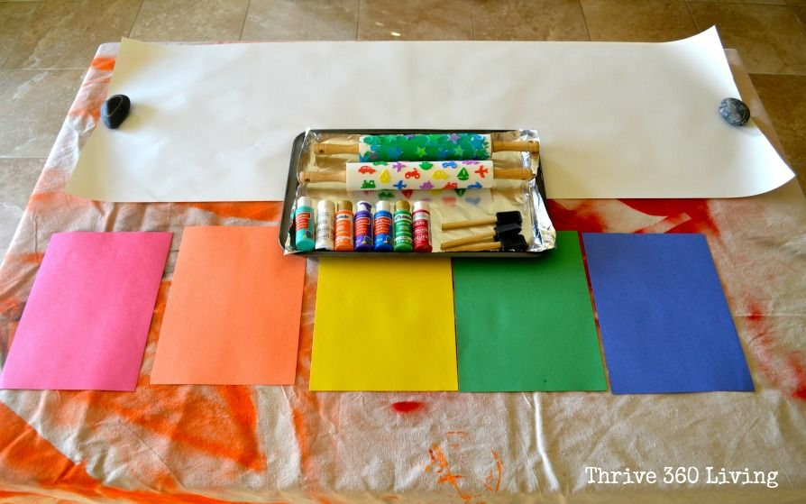 Thrive 360 Living: Rolling Pin Stamps