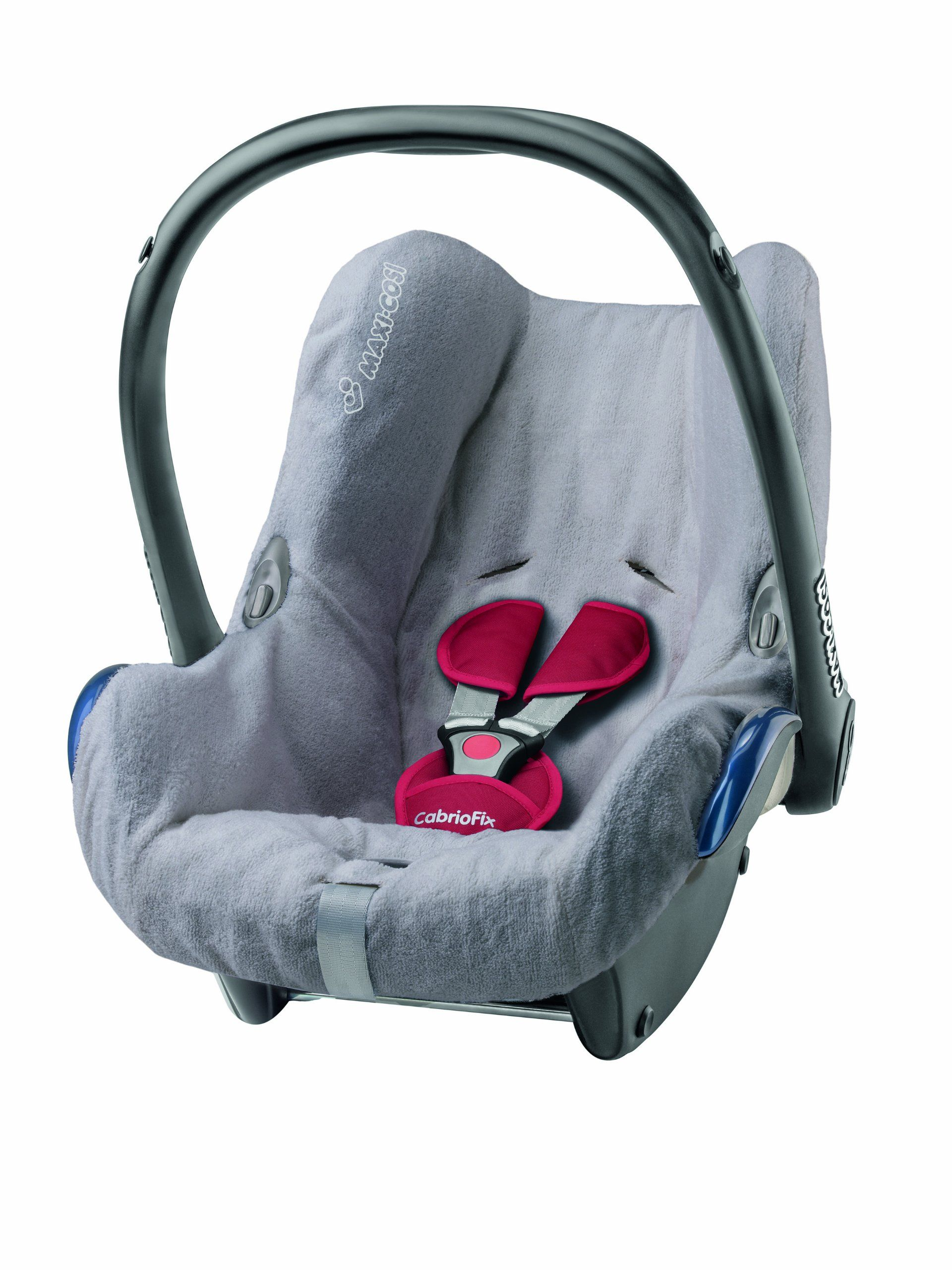 MaxiCosi CabrioFix Car Seat Summer Cover (Cool Grey