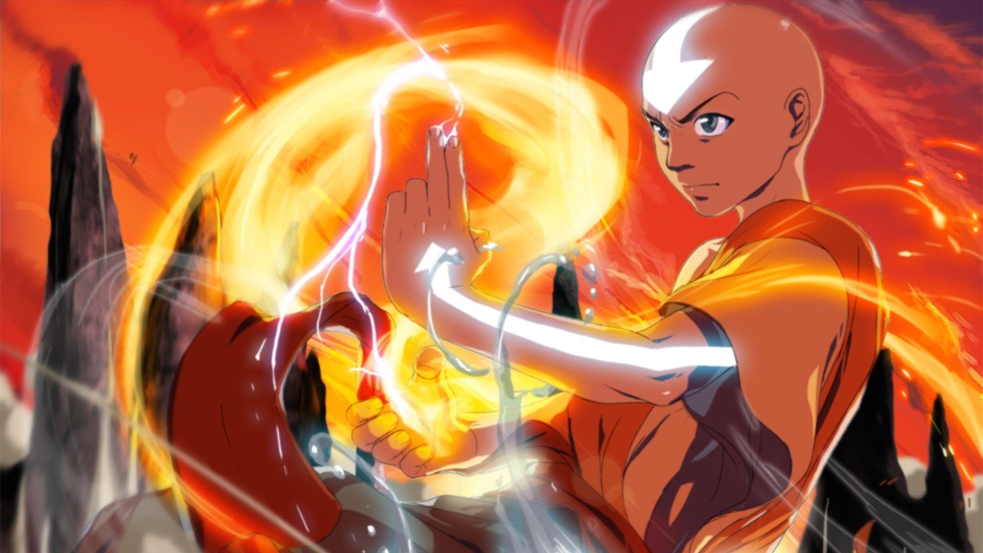 Avatar The Last Airbender Aang 1080p Wallpaper Hdwallpaper Desktop The Last Airbender Avatar The Last Airbender Avatar Desktop wallpaper avatar last airbender