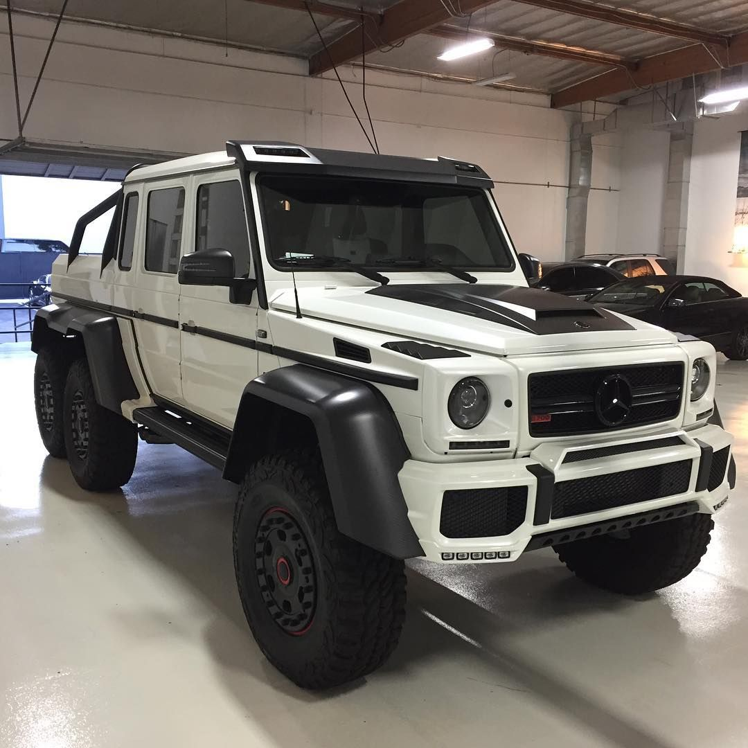 BRABUS G700 6x6 Measures In At 13.7 Feet In Length