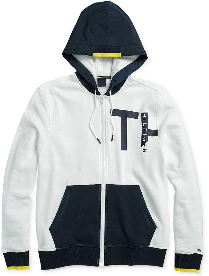 2019 的 Tommy Hilfiger Adaptive Men Coastal Sweatshirt with