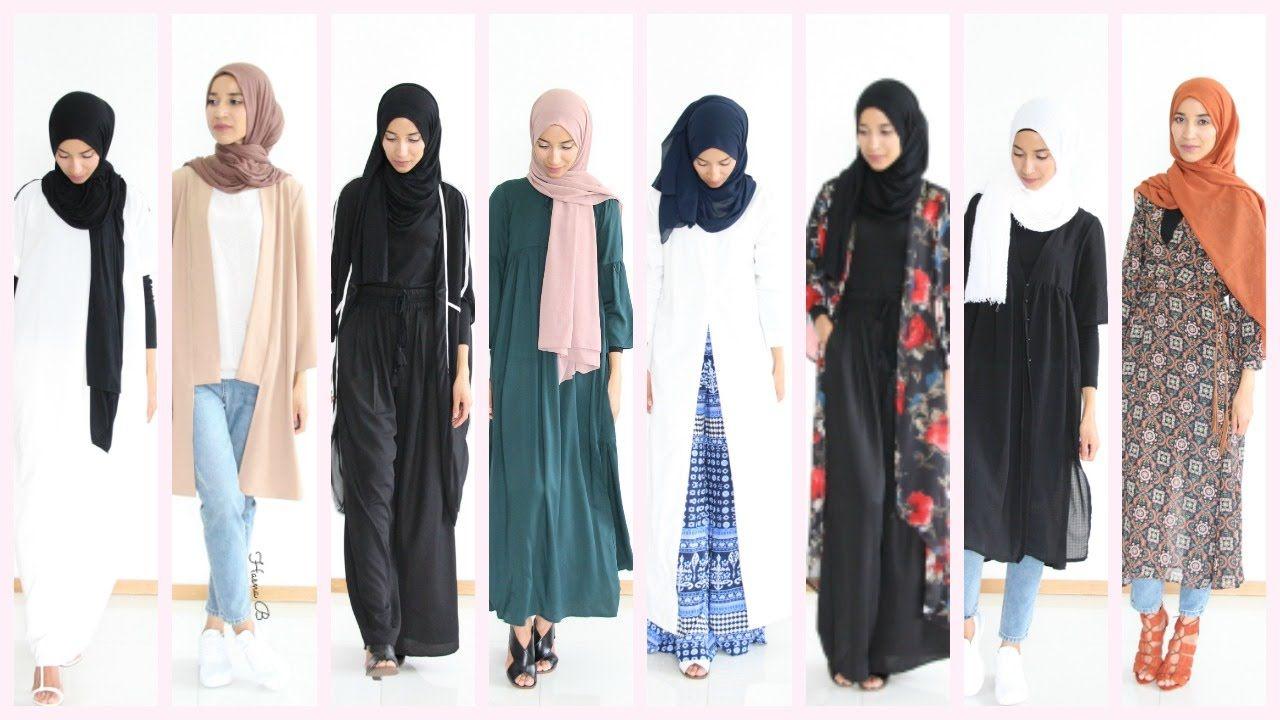 1d5c7360558d Hijab Lookbook : 13 outfit ideas Shein | look book hijab | Hijab ...