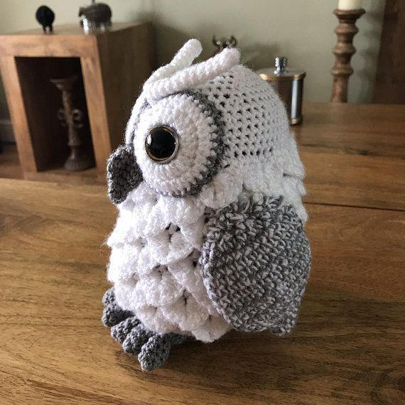 Amigurumi Owl Pattern, crochet owl pattern, owl pattern, crochet owl, amigurumi owl #instructionstodollpatterns