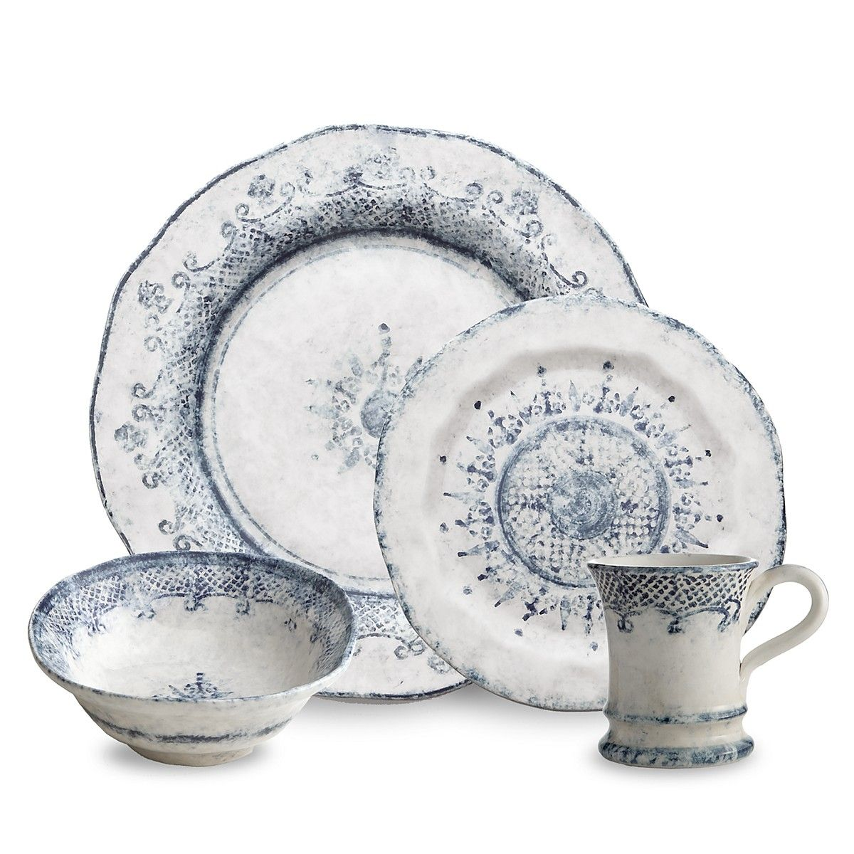 Arte Italica Burano Dinnerware | Bloomingdales  sc 1 st  Pinterest & Arte Italica Burano Dinnerware | Bloomingdales | Blue and White ...