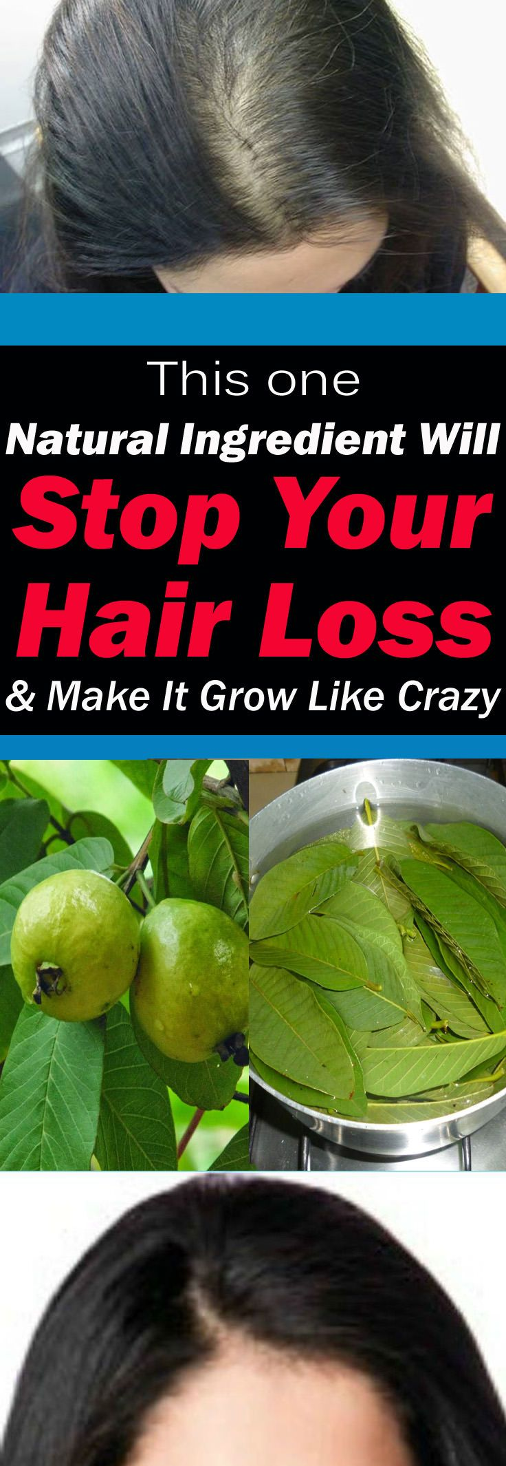 This One Natural Ingredient Will Stop Your Hair Loss And Make Them Grow Like Crazy